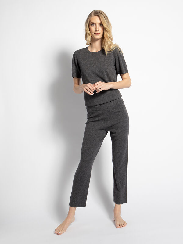 Cashmere Blend Trousers