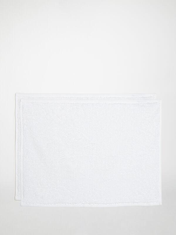 Set of 2 Guest Towels 35 x 50 cm