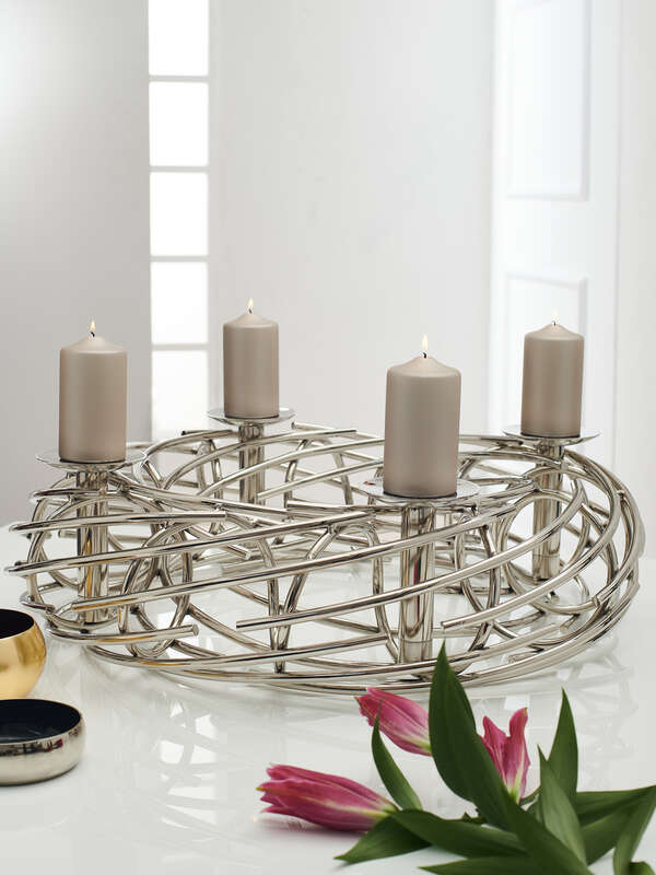 Decorative Wreath/Candle Holder