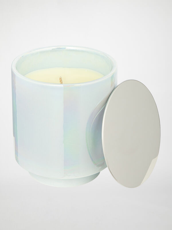 Scented Candle in Ceramic Container