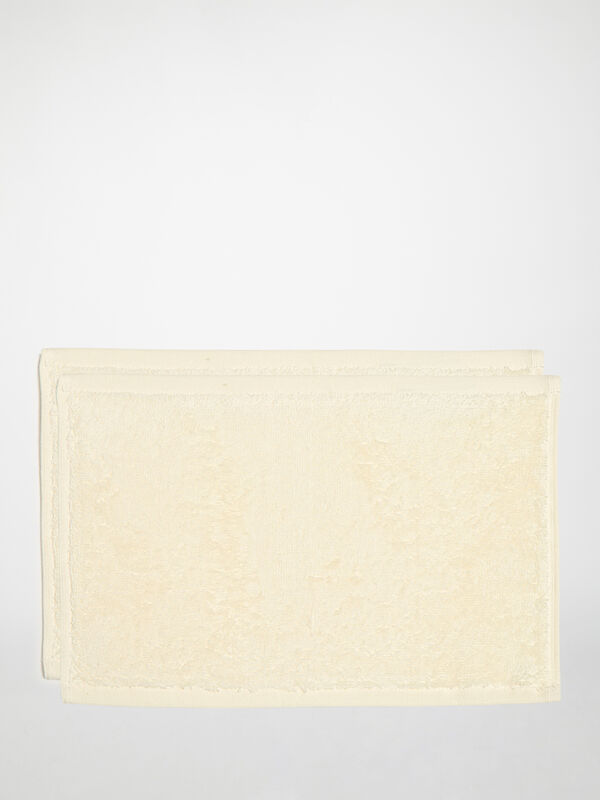 Set of 2 Cosmetic Cloths 20 x 30 cm